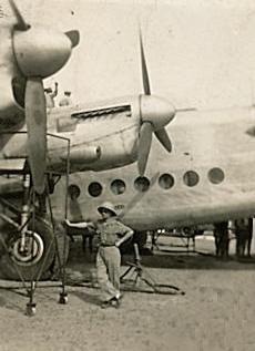 Avro 685 York. Dakar - 15/01/1946