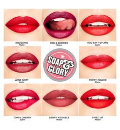 Soap and Glory™ Sexy Mother Pucker™ Reds Collection Lipstick - Boots