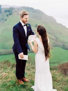 This wedding is both intimate and wildly romantic all rolled up into one. It's a west coast elopement surrounded by soaring Redwoods, perfectly edited details by A & B Creative and a bouquet that. Vows, Style Me, Bouquet, Romantic, Wedding Goals, Couple Photos, Wedding Dresses, West Coast, Pretty
