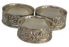 Napkin Rings, S/3 on OneKingsLane.com