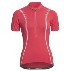Icebreaker GT Bike Halo Cycling Jersey - Merino Wool, Zip Neck, Short Sleeve (For Women) in Sari