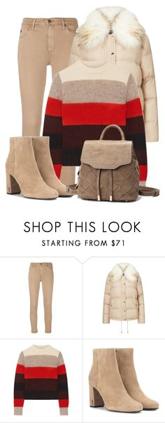 """""""Casual Winter Jeans Outfit"""" by mozeemo ❤ liked on Polyvore featuring AG Adriano Goldschmied, Miss Selfridge, rag & bone and Yves Saint Laurent"""