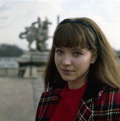 Anna Karina in 1965.