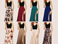 sims 4 dresses cc | Tumblr