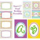 Smart & Final Birthday Printables