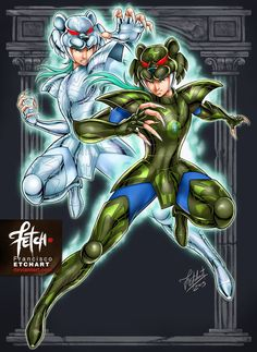 New illustrations for a cards game that I did for Universo Retro about Saint Seiya. The main goal with it, it´s not commercial, but to enjoy and play. Rights reserved to Masami Kurumada. Art d...