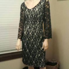 Perfect Black Lace Dress !
