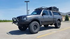 Overlanding – 2006 Ford Ranger : The Ranger Station Ford Ranger Mods, 2006 Ford Ranger, Ford Ranger Lifted, Ford Ranger Truck, Ranger 4x4, Pickup Truck Camper Shell, Ford Explorer Accessories, Truck Accessories, Pickup Camping