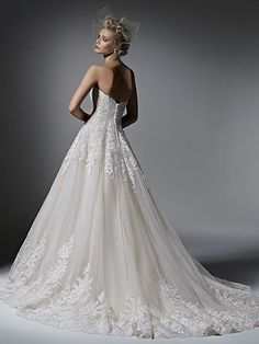Zelinda Wedding Dress by Maggie Sottero | back