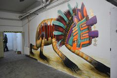 Stencils: Stroke Urban Art Fair (by El CURIOT)
