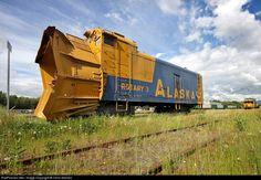Net Photo: ARR 3 Alaska Railroad Rotary Plow at Anchorage, Alaska by Chris Starnes Work Train, Train Art, Old Trains, Vintage Trains, Alaska Railroad, Old Steam Train, Alaska Travel, Alaska Cruise, Train Times