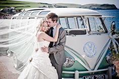 Wedding bus.