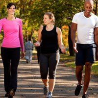 Walking for back pain is a treatment that almost anyone can do. Walking is a good way for sedentary people to slowly become more active. Walking is an especially good form of back exercise therapy for pregnant women, the elderly or overweight and obese people.