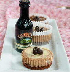 Baileys+Mini+Cupcake+Cheesecakes