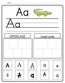 Primary Possibilities: Letter Sort FREEBIE