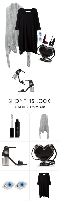 """flickers."" by girlyskullsam ❤ liked on Polyvore featuring Marc Jacobs, Zedd Plus, Alexander Wang, Rebecca Minkoff, Sydney Evan and Lipstick Queen"