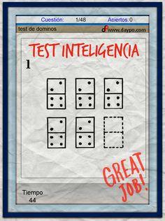 Un Test de Inteligencia, muy bueno!!!!