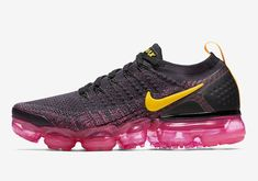 best service 31887 f8cac Nike Air Vapormax Flyknit 2 Black Pink Size 9 US Womens Athletic Running  Shoes  Nike