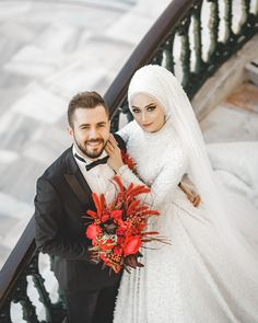 Most Gifts that Keeps fitness babes Bridal Poses, Wedding Poses, Wedding Couples, Wedding Bride, Hijabi Wedding, Hijab Wedding Dresses, Bridal Hijab, Hijab Bride, Muslim Brides