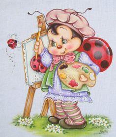 Joaninha pintora