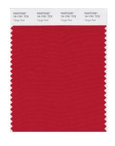 PANTONE SMART 19-1760X Color Swatch Card, Scarlet - Amazon.com