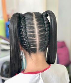 braid hairstyles hairstyles shaved sides hairstyles twist hairstyles with jewelry hairstyles video tutorial braided hairstyles hairstyles tutorial hairstyles for girls Sweet 16 Hairstyles, Uk Hairstyles, Kids Braided Hairstyles, Baddie Hairstyles, Little Girl Hairstyles, Spanish Hairstyles, Relaxed Hairstyles, Ethnic Hairstyles, Hair Images