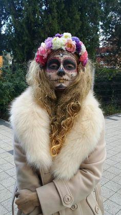 Dia de los muertos,  Sugar Skull magnifique