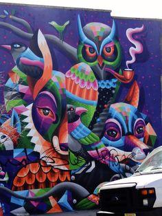 Street Art dans le quartier de Bushwick à Brooklyn !