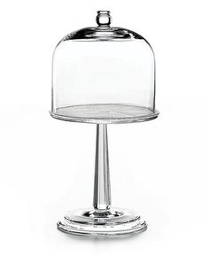 Martha Stewart Collection Serveware, Fluted Cake Stand with Glass Dome - Serveware - Dining & Entertaining - Macy's