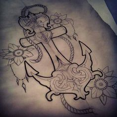 I love anchor tattoos and always wanted one. This one is amazing!