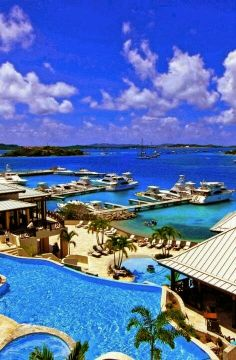 Contact #BlueOceanBooking to visit these stunning Virgin Islands locations on your next vacation!  Scrub Island Resort, BVI