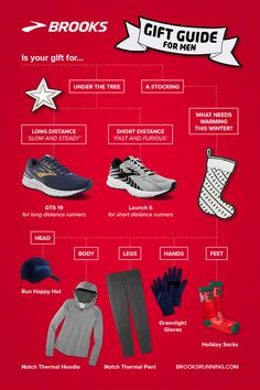 This holiday season, give the gift of running. Shop the Brooks Running Gift Guide for Him! High Intensity Workout, Intense Workout, Gifts For Your Boyfriend, Gifts For Him, Women's Shoes, Shoes Sneakers, Hiit Workouts For Men, Gift Guide For Men, Feeling Fatigued