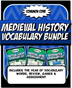 Buy in bulk and save! Bought separately this bundle would cost $48!Now, perhaps more than ever with introduction of Common Core, academic vocabulary is key to student success in reading and making meaning of content text!  With this in mind we created 8 unit vocabulary activity sets to ensure that the correct definitions are learned in thoughtful, fun and engaging ways.