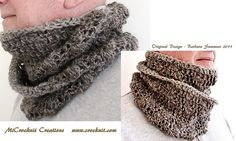 Free Crochet Mobius Country Tracks Pattern.
