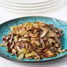 Stir your way to a delicious dinner with this Vegetable Stir-Fry Recipe with Endive & Shiitake Mushrooms.