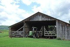 Hay Wagon Shed with Tractor Royalty Free Stock Photo Photographer Portfolio, Vermont, Tractor, Farms, Royalty Free Stock Photos, Cabin, House Styles, Home Decor, Homesteads