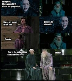 HP + Mean Girls references = AWESOME.