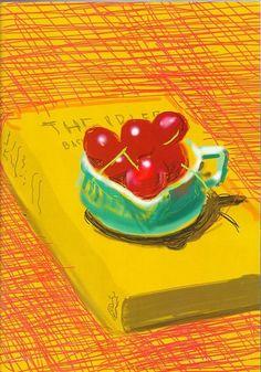 David Hockney (ipad drawing)
