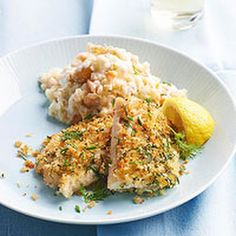 ingredient herb crusted cod with cauliflower mash our herb crusted cod ...