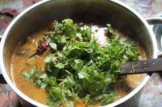 Discover recipes, home ideas, style inspiration and other ideas to try. Sambhar Recipe, Tomato Chutney, Chutney Recipes, Coriander Seeds, Curry Leaves, Seaweed Salad, Delish, Sri Krishna, Veggies