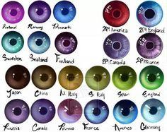 Hetalia eye color. I have Japan eye color.<< Mine ressemble China's most << I have Japan's