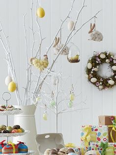 Decorate your home #Easter #Spring #Decorations