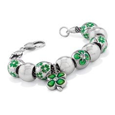 Brighton Lucky charm and beads// My dogs name is Clover, so any charms with a clover on them are wanted. :))