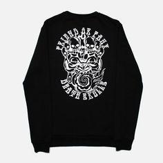 e58de557f Friend or Faux - Men's Booth Black Sweatshirt Mens Sweatshirts, Man Shop,  Street Wear
