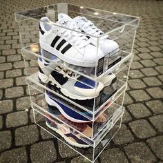 Check out Krate & Co's Clear Sneaker Display Krates
