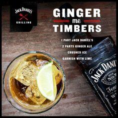 Jack meets ginger. #JackDaniels #drinkrecipes #drinks #cocktails #whiskey