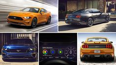 2018 Ford Mustang: Images and Video