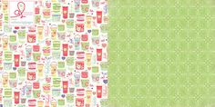 Webster's Pages Presents ~ New Year New You by Adrienne Looman ~ Patterned Papers!!