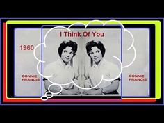 Connie Francis - I Think Of You - YouTube