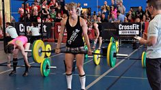 Diane shook things up in Canada West. Forty-year-old Jolaine Bloom took 1st place with a 2:46, while Heather Gillespie and Emily Beers followed in 2nd and 3rd. Tenth fittest woman on Earth Angie Pye f Crossfit Regionals, 1 Place, Healthy Weight, Fit Women, Healthy Lifestyle, Bloom, Canada, Earth, Workout